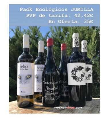 Pack ECOLÓGICOS Jumilla, Alceño, Parajes del Valle, Pío del Ramo