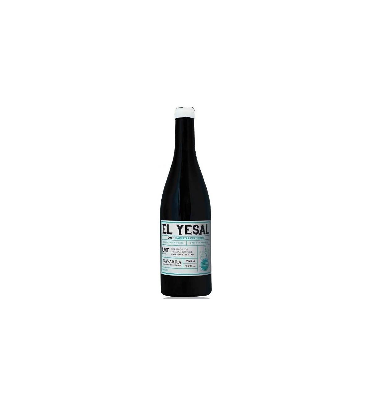 El Yesal 2017 - LMT wines - Garnatxa, viñas viejas, Navarra